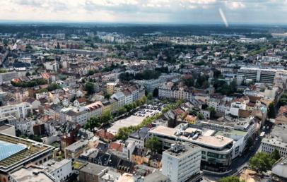 Aussicht City Tower Offenbach