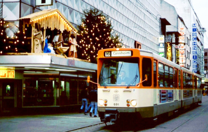 Offenbach Straßenbahnlinie 16