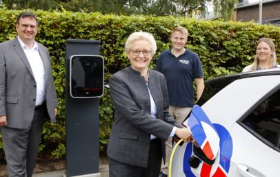 Energieversorgung Offenbach Elektroautos Ladesäulen