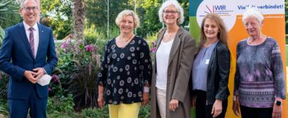 Hella Adelmann Integrationslotsin Offenbach Kai Klose Ehrung