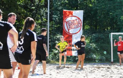 Kickers Offenbach OFC Handball Beachcup 2021 Rosenhöhe
