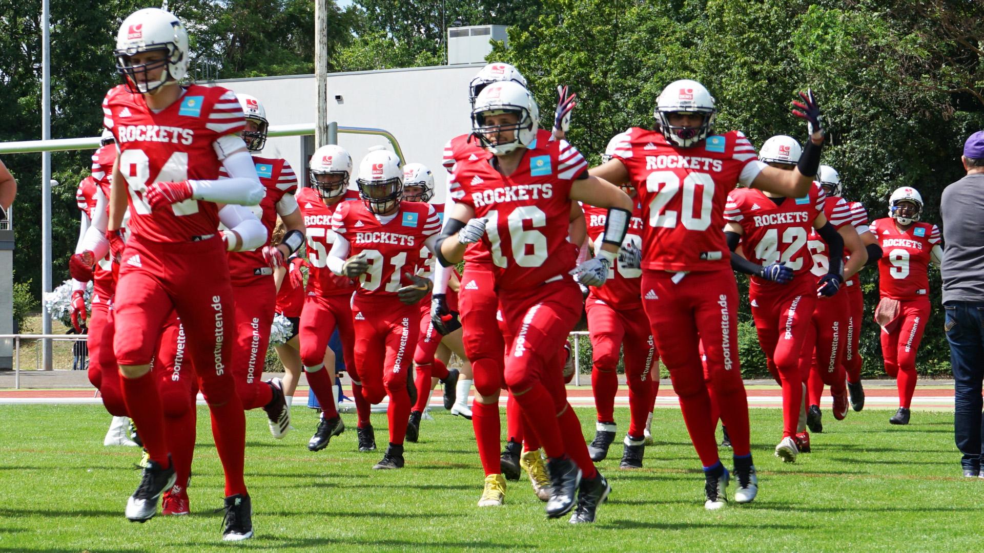 Rhein Main Rockets gewinnen gegen Bürstadt Redskins
