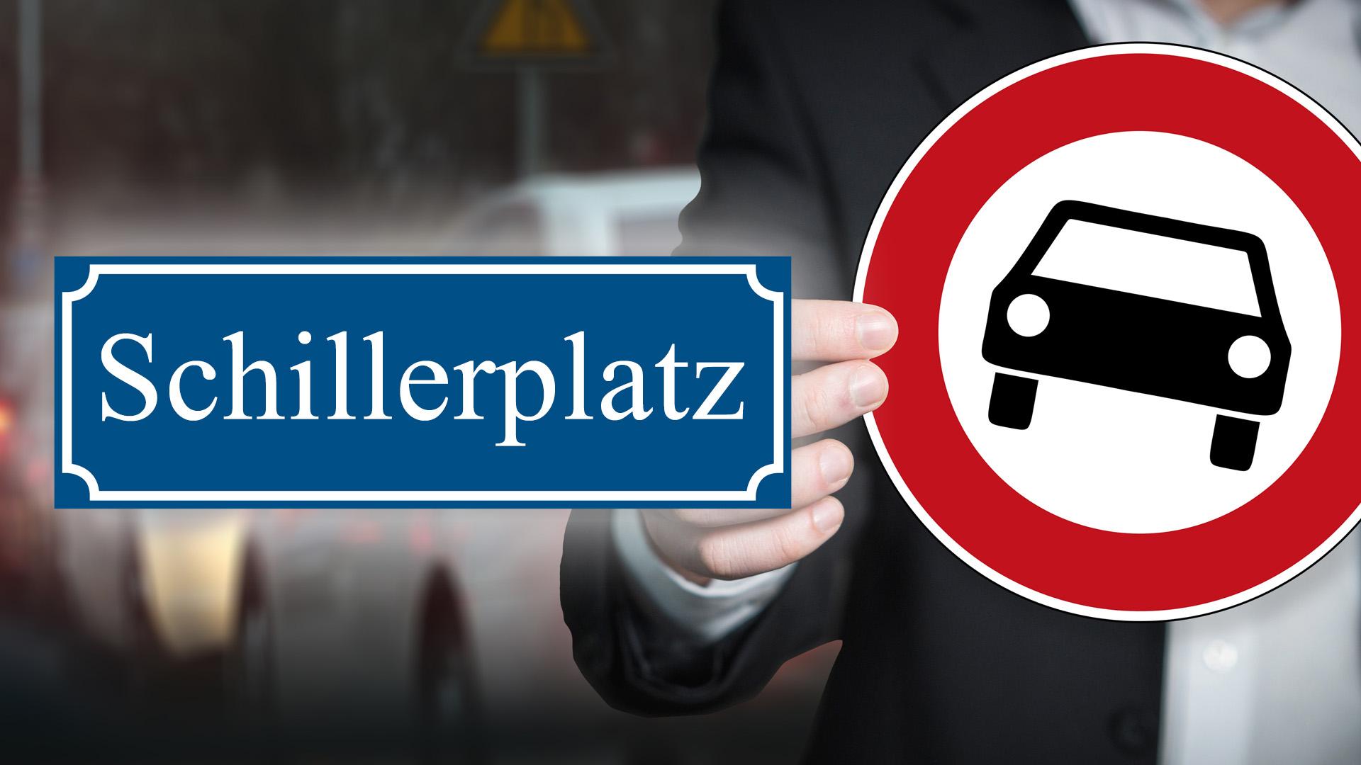 Schillerplatz Offenbach autofrei