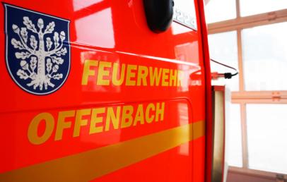 Wohnungsbrand Offenbach Rumpenheim Feuerwehr