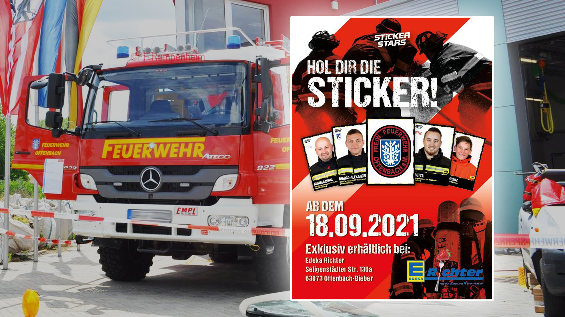 freiwillige Feuerwehr Offenbach Stickerstars
