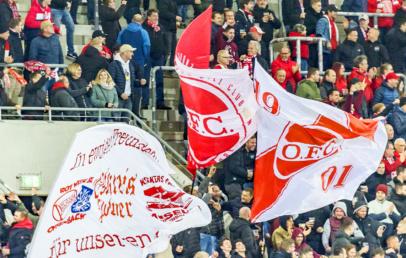 Kickers Offenbach Auswärtssieg gegen FC Gießen