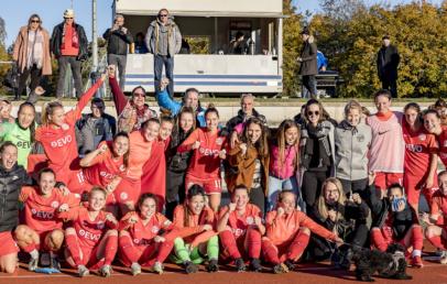 Kickers Offenbach Frauen gewinnen gegen Karlsruher SC