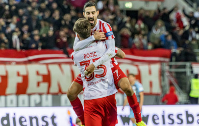 Kickers Offenbach Heimsieg gegen VfR Aalen 22.10.2021