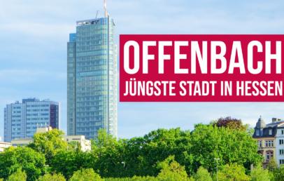 Offenbach jüngste Stadt in Hessen GDV