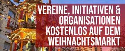 Vereine kostenlos auf dem Offenbacher Weihnachtsmarkt