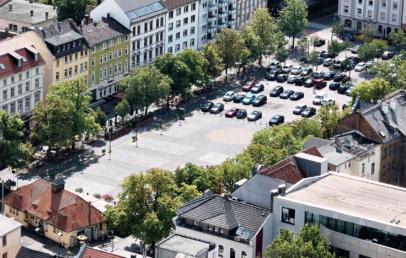 Wilhelmsplatz Seitenstraßen Verkehrsberuhigung vorerst aufgehoben